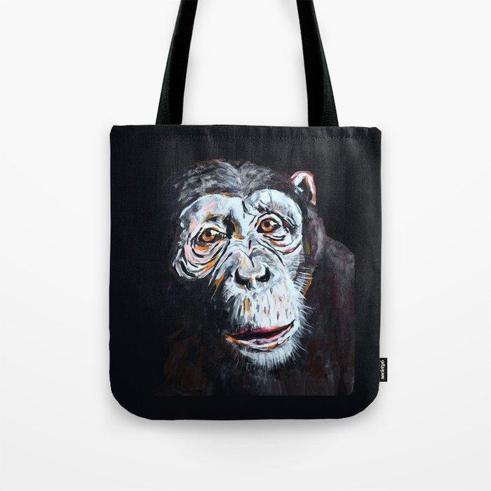 Chimpanzee: One Survivor Tote Bag