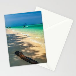 Driftwood On The Beach Stationery Cards