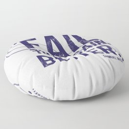 fail, fail again. fail better. Floor Pillow