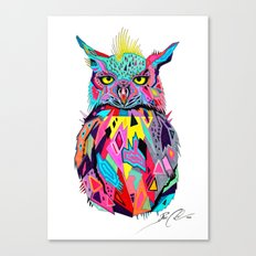 -Abstract Owl- Canvas Print