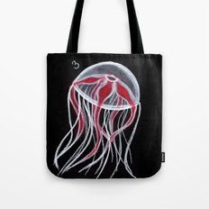 Red Jelly Tote Bag