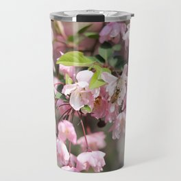 Pink Blossoms Travel Mug