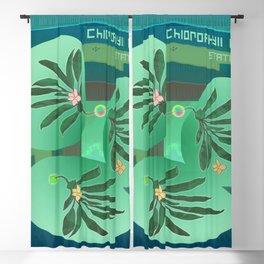 Chlorofyll Bank Station Blackout Curtain