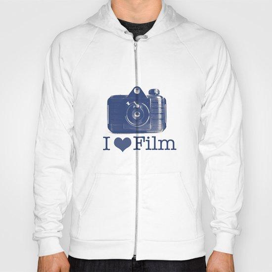 I ♥ Film (Blue/Peach) Hoody