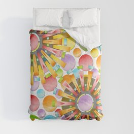 Birthday Party Polka Dots Comforters
