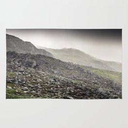 Welsh Hills of Snowdonia Rug