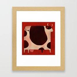 BOVINE Framed Art Print