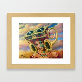 Ramophone Framed Art Print