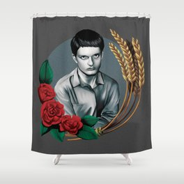 Joy Division - Ian Curtis Shower Curtain