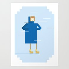 Snow Guy Art Print