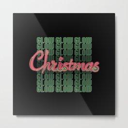 Christmas Glow Metal Print