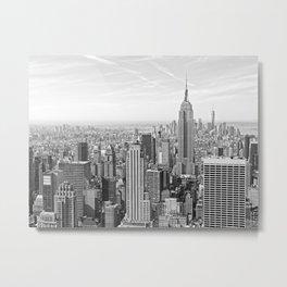 Cityscape of Manhattan Metal Print