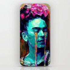 Frida Kahlo Painting II iPhone Skin