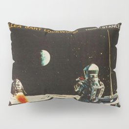 2001 A Space Odyssey 1968 Turkish Lobby Broadside Vintage Film Poster Pillow Sham