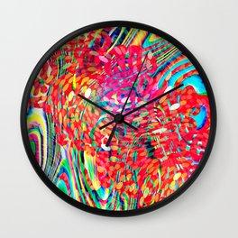 my petrol emotion Wall Clock