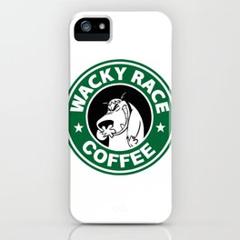 Muttley´s Coffee iPhone Case