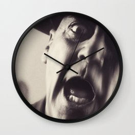 Full Metal Jacket, Stanley Kubrick, alternative movie poster, minimalist print, Vietnam War, Marines Wall Clock