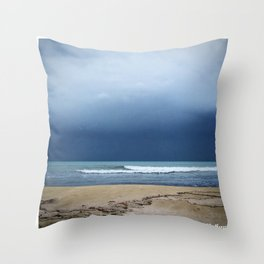 Maybe Not The Best Weather? Throw Pillow