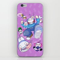 cryaotic iPhone & iPod Skins featuring Cryaotic :: JUMP by Thais Magnta Canha
