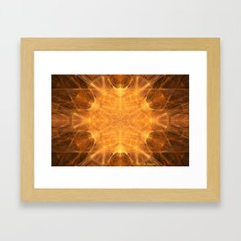 UFO Magnetic Fields Framed Art Print