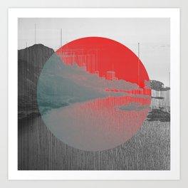 Terraform Art Print
