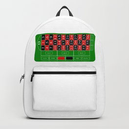Roulette Table Backpack