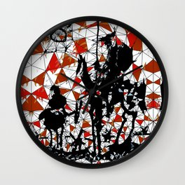 Don Quijote de la Mancha Wall Clock
