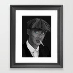 Thomas F'n Shelby - Peaky Blinders Framed Art Print