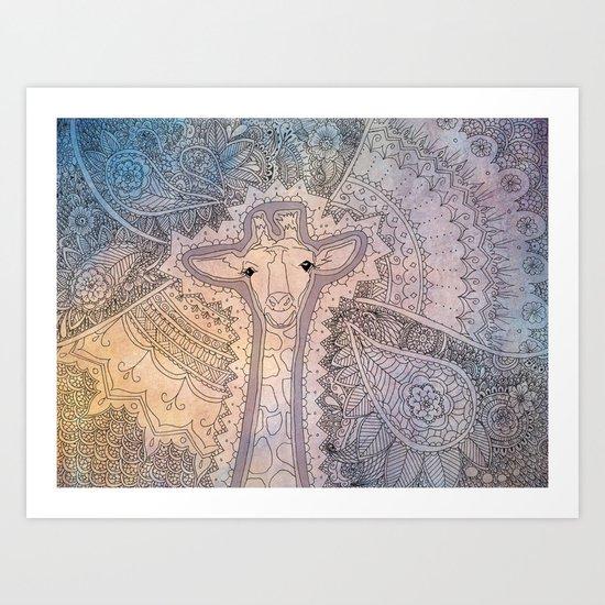 Bakari Art Print