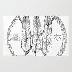 Ouroboros Logos Rug