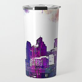 Minneapolis, Minnesota Skyline Travel Mug