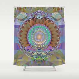 Innermost Cathedral II Shower Curtain