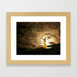 The Far Side of Midnight Framed Art Print