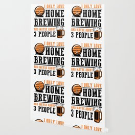 For Craft Beer Lovers who Brew Their Beer at Home Light Wallpaper