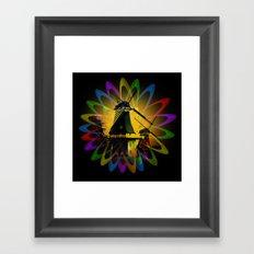 Windmills - Greetsiel Framed Art Print