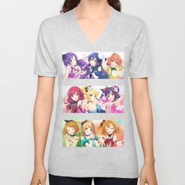 Muse Girls- Love live Unisex V-Neck