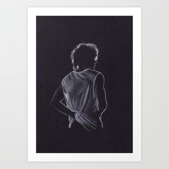Louis Tomlinson Art Print