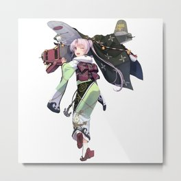 Kantai Collection - Akitsushima Metal Print
