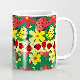 Ladybug Hoopla Coffee Mug
