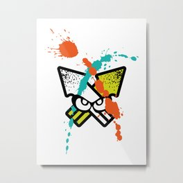 Splatoon - Turf Wars 4 Metal Print