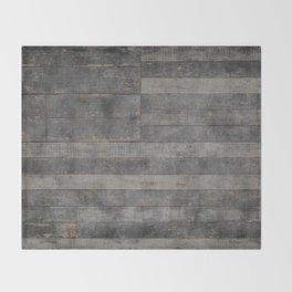 Black Flag USA Throw Blanket