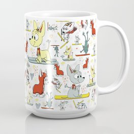 Chi's on skis Coffee Mug