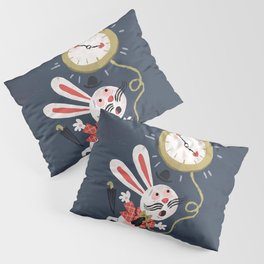White Rabbit - Alice in Wonderland Pillow Sham