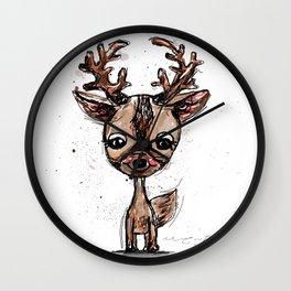 Little Deer Wall Clock