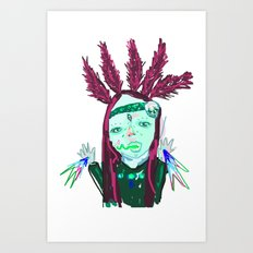 ahHHHHH #3 Art Print