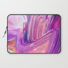 In the Details Abstract Macro Photography Laptop Sleeve
