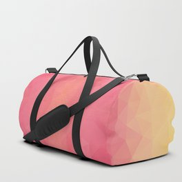 Triangles design in soft colors Duffle Bag
