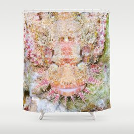 Flamboyant scorpionfish Shower Curtain