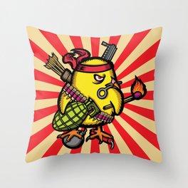 Se Armo El Pollo Throw Pillow