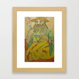 20th Wizard Framed Art Print